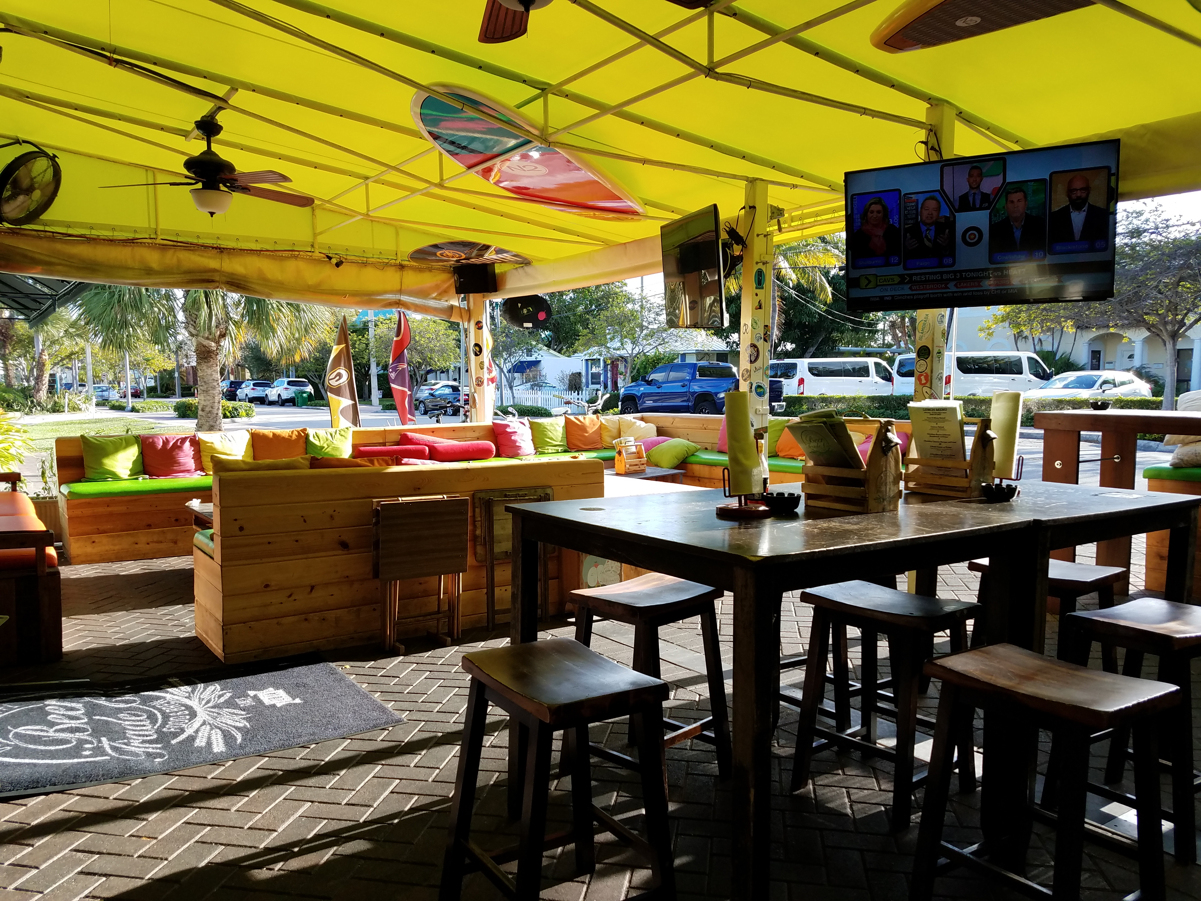 I Think This Is My Favorite Spot In Delray Beach (especially For Beer  Drinkers). It Is A Beer Store, Bar And Restaurant. We Were There On A MON  For Happy ...